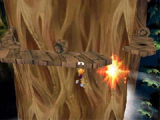 Screenshot Thumbnail / Media File 1 for Rayman 2 - The Great Escape [U]